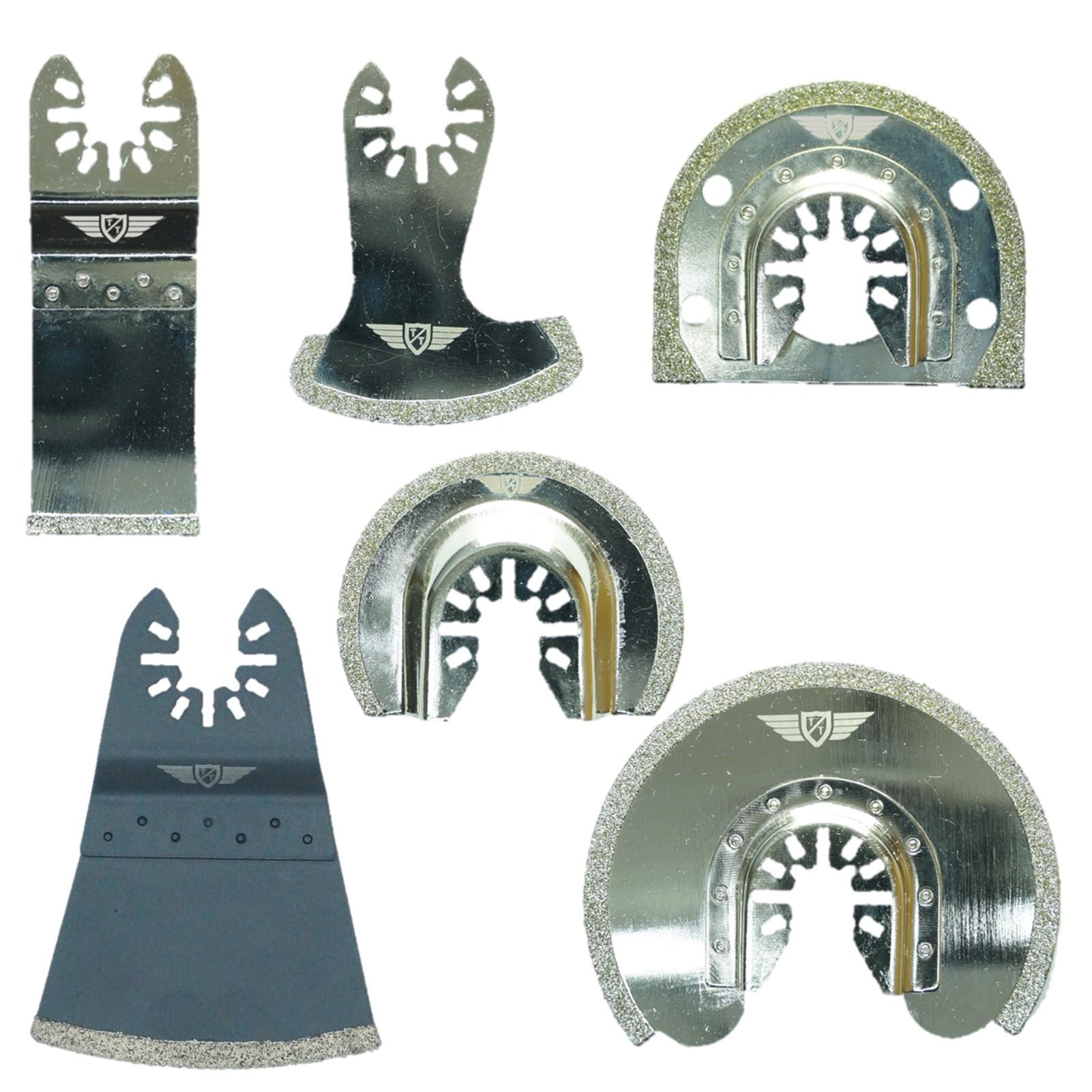 5 x topstools 65 mm Lames Pour DeWalt Stanley Black Et Decker Bosch Outils Multifonction