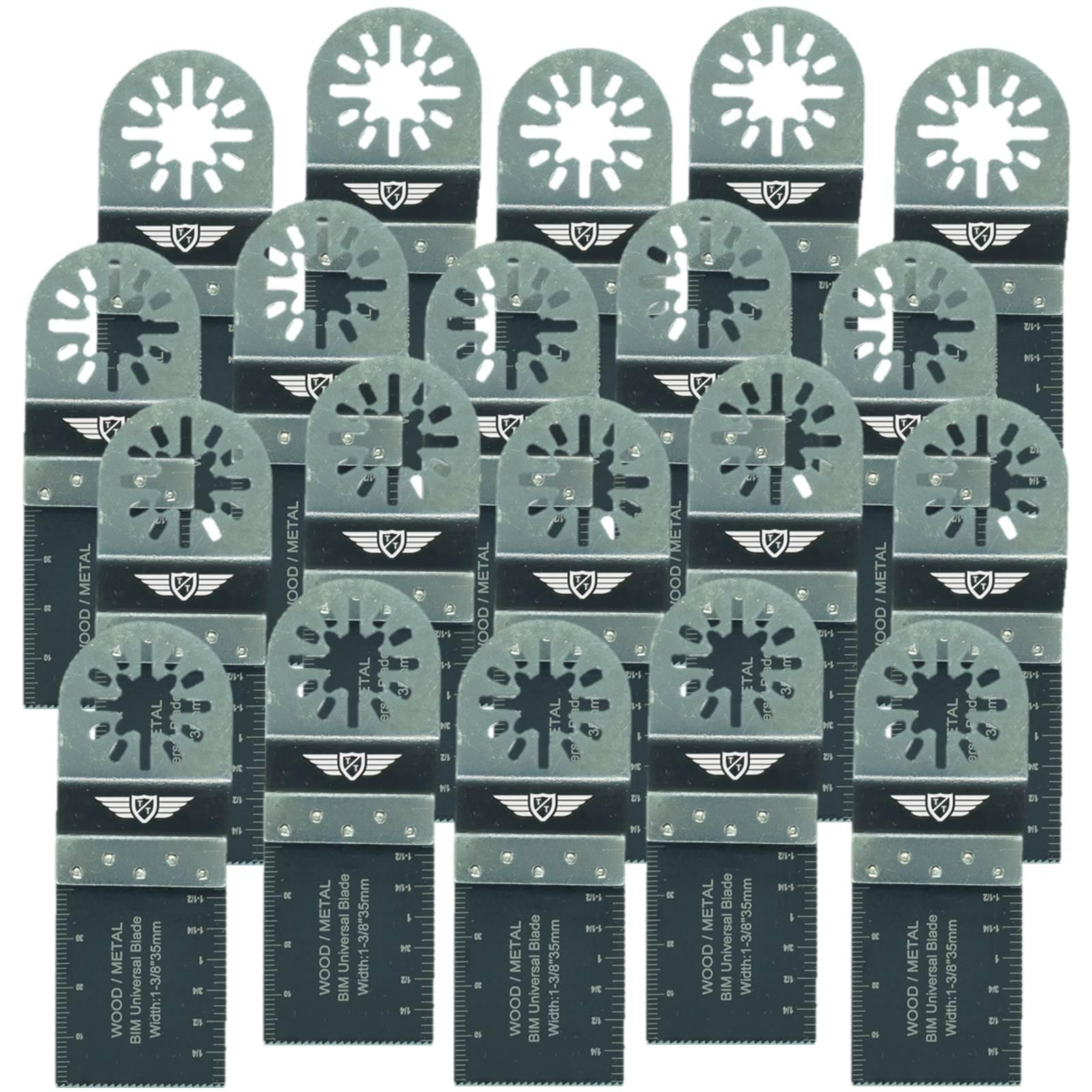 2 x TopsTools Carbide BladeS Fein Multimaster Bosch Makita Ryobi Multitool