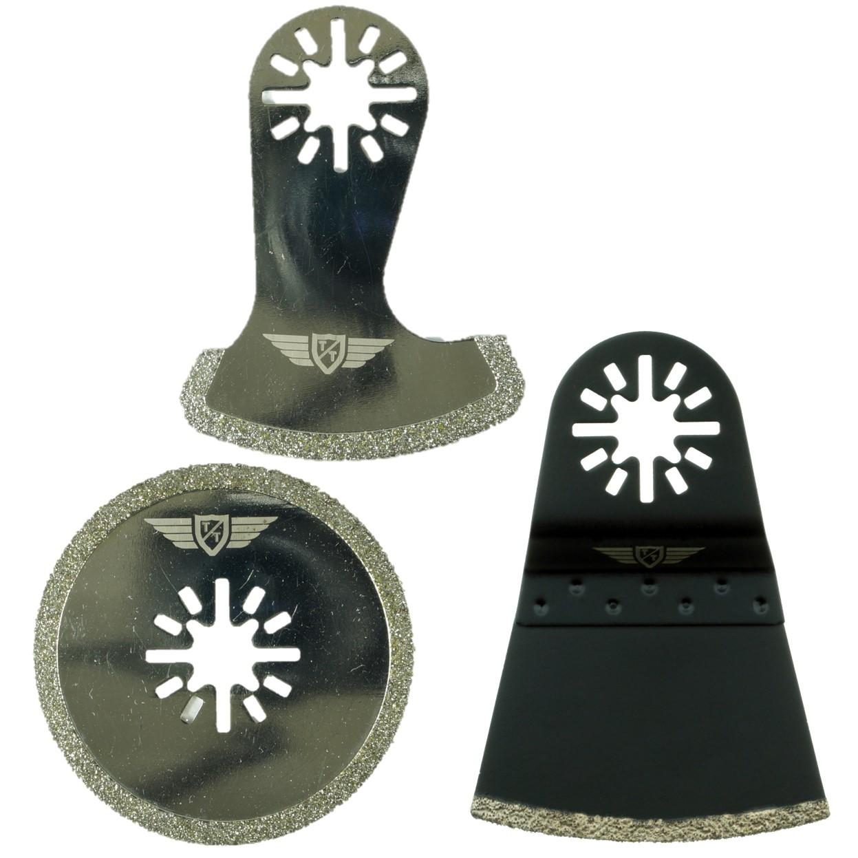 10x 35mm Coarse Blades Fein Multimaster Bosch Moss Makita Oscillating Multitool
